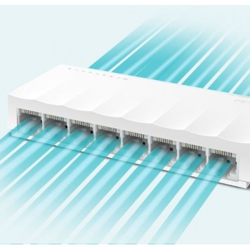 Коммутатор TP-Link LS1008 8x100Mb неуправляемый -3