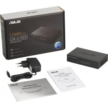 Коммутатор Asus GX-U1051 5G неуправляемый -4