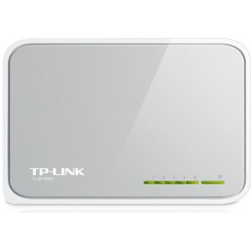 Коммутатор TP-Link TL-SF1005D 5x100Mb неуправляемый -6