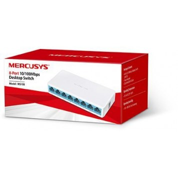 Коммутатор Mercusys MS108 8x100Mb неуправляемый -1