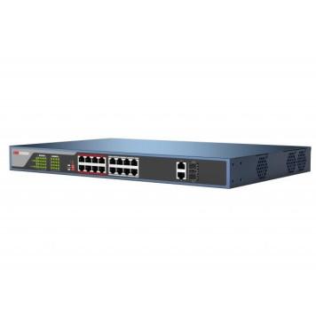 Коммутатор Hikvision DS-3E0318P-E(B) -2