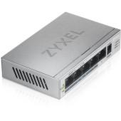 Коммутатор Zyxel GS1005HP-EU0101F 5G 4PoE+ 60W неуправляемый