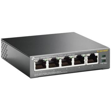 Коммутатор TP-Link TL-SG1005P 5G 4PoE 56W неуправляемый -2