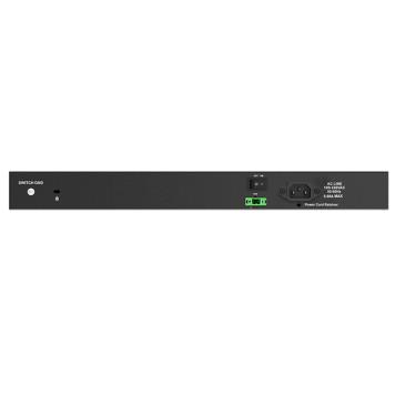 Коммутатор D-Link DGS-1210-28XS/ME/B1A 24SFP 4SFP+ управляемый