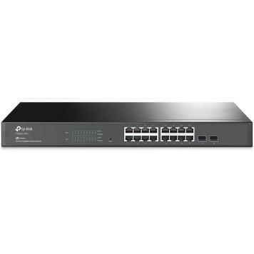 Коммутатор TP-Link T1600G-18TS 16G 2SFP управляемый -1