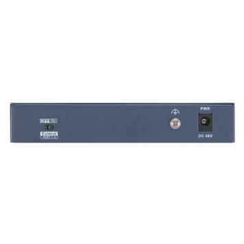 Коммутатор Hikvision DS-3E0106HP-E 4x100Mb 2PoE+ 60W неуправляемый -1