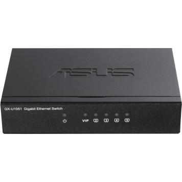 Коммутатор Asus GX-U1051 5G неуправляемый
