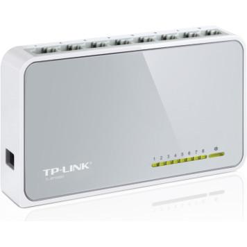 Коммутатор TP-Link TL-SF1008D 8x100Mb неуправляемый -2