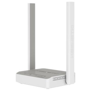 Роутер беспроводной Keenetic 4G N300 10/100BASE-TX/4G ready белый -1