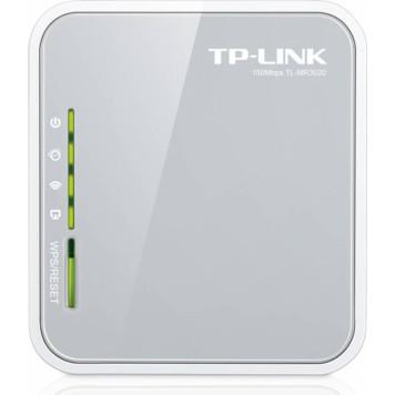 Роутер беспроводной TP-Link TL-MR3020 N300 10/100BASE-TX/4G ready белый -1