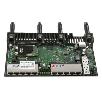 Роутер беспроводной MikroTik RB4011iGS+5HacQ2HnD-IN AC2000 10/100/1000BASE-TX/SFP+ черный