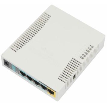 Роутер беспроводной MikroTik RB951UI-2HND N300 10/100BASE-TX белый