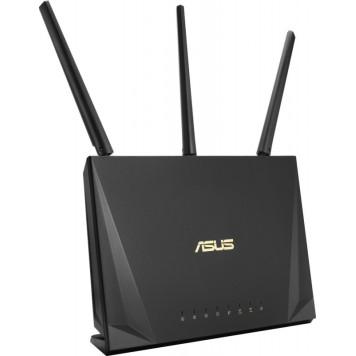 Роутер беспроводной Asus RT-AC65P AC1750 10/100/1000BASE-TX черный -1