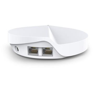 Бесшовный Mesh роутер TP-Link Deco M5 (DECO M5(3-PACK)) AC1300 10/100/1000BASE-TX белый (упак.:3шт) -4