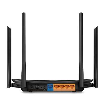 Роутер беспроводной TP-Link Archer C6 AC1200 10/100/1000BASE-TX черный -1