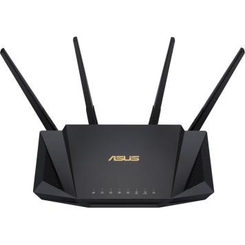 Роутер беспроводной Asus RT-AX58U AX3000 10/100/1000BASE-TX черный -4