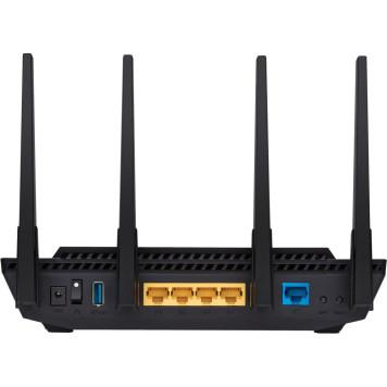 Роутер беспроводной Asus RT-AX58U AX3000 10/100/1000BASE-TX черный -5