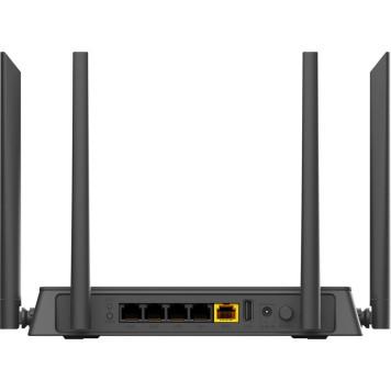 Роутер беспроводной D-Link DIR-815 (DIR-815/RU) AC1200 10/100BASE-TX/4G ready черный