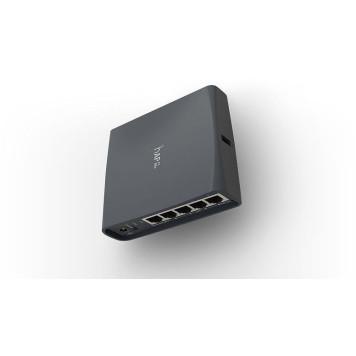 Роутер беспроводной MikroTik hAP ac lite TC (RB952UI-5AC2ND-TC) AC750 10/100BASE-TX черный