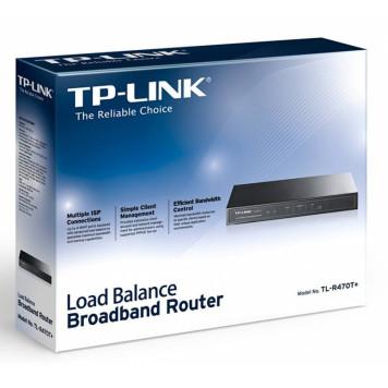 Роутер TP-Link TL-R470T+ 10/100BASE-TX черный