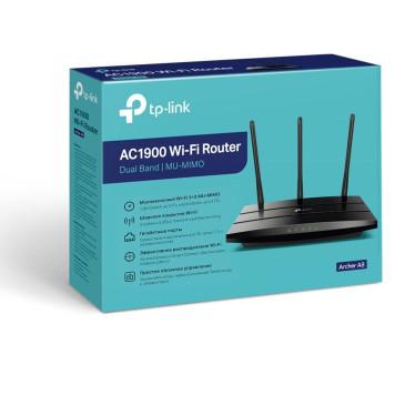 Роутер беспроводной TP-Link ARCHER A8 AC1900 10/100/1000BASE-TX черный -3