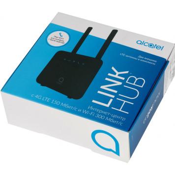 Интернет-центр Alcatel LINKHUB HH42CV (HH42CV-2AALRU1-1) 10/100BASE-TX/3G/4G cat.4 черный -12