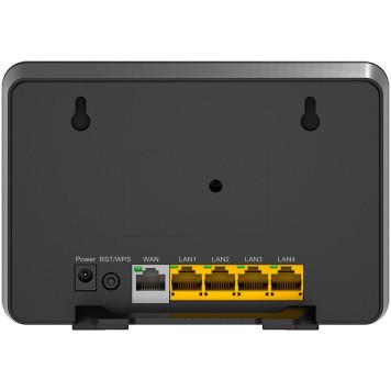 Роутер беспроводной D-Link DIR-815/S (DIR-815/SRU/S1A) AC1200 10/100BASE-TX черный