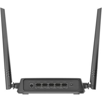 Роутер беспроводной D-Link DIR-615/X1A N300 10/100BASE-TX черный -3