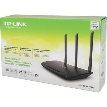 Роутер беспроводной TP-Link TL-WR940N (TL-WR940N 450M) N450 10/100BASE-TX -4