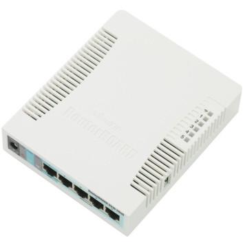 Роутер беспроводной MikroTik RB951G-2HND N300 10/100/1000BASE-TX белый