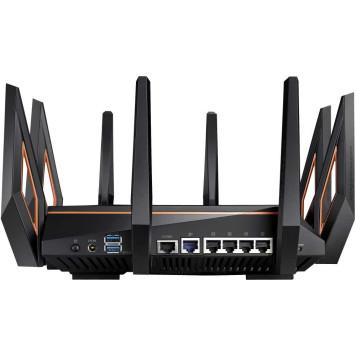 Роутер беспроводной Asus GT-AX11000 AX11000 10/100/1000BASE-TX/4G ready черный -2