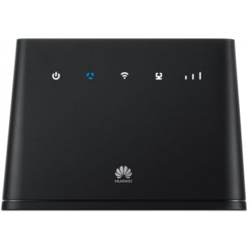 Интернет-центр Huawei B311-221 (51060EFN) 10/100/1000BASE-TX/3G/4G cat.4 черный