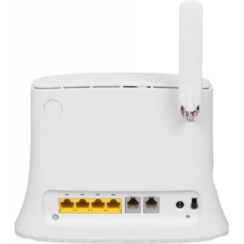 Интернет-центр ZTE MF283RU N300 10/100/1000BASE-TX/3G/4G cat.4 белый -1