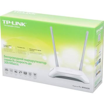 Роутер беспроводной TP-Link TL-WR840N N300 10/100BASE-TX белый -5