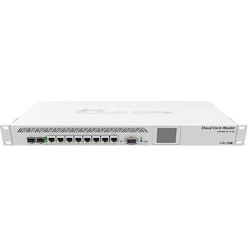 Роутер MikroTik CCR1009-7G-1C-1S+ 10/100/1000BASE-TX белый -1