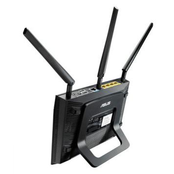 Роутер беспроводной Asus RT-AC66U AC1750 10/100/1000BASE-TX/4G ready черный -6