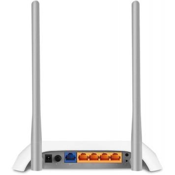 Роутер беспроводной TP-Link TL-WR842N N300 10/100BASE-TX/4G ready белый -1