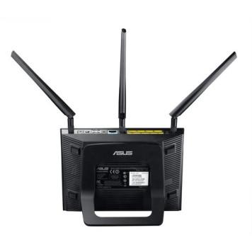 Роутер беспроводной Asus RT-AC66U AC1750 10/100/1000BASE-TX/4G ready черный -7