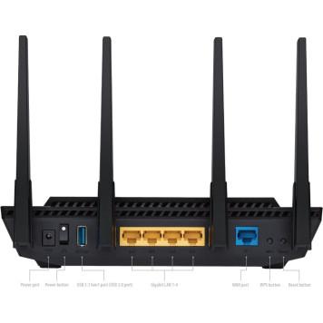 Роутер беспроводной Asus RT-AX58U AX3000 10/100/1000BASE-TX черный -6