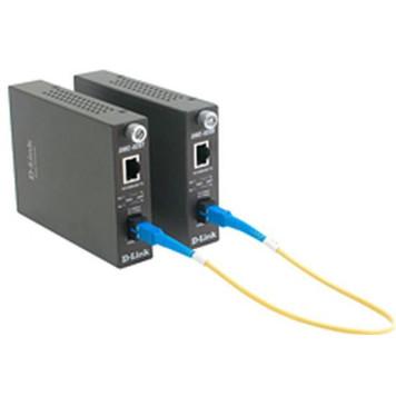 Медиаконвертер D-Link DMC-920T/B10A 1x10/100Base-TX 1x100Base-FX SC ТХ:1550nm RX:1310nm 20km