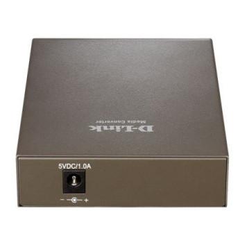 Медиаконвертер D-Link DMC-920R/B10A WDM 1x10/100Base-TX 1x100Base-FX SC ТХ:1310nm RX:1550nm SingleMode 20km -1