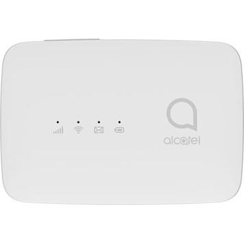 Модем 2G/3G/4G Alcatel Link Zone MW45V USB Wi-Fi Firewall +Router внешний белый
