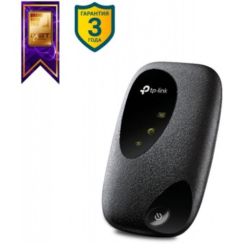 Модем 2G/3G/4G TP-Link M7200 micro USB Wi-Fi +Router внешний черный -1