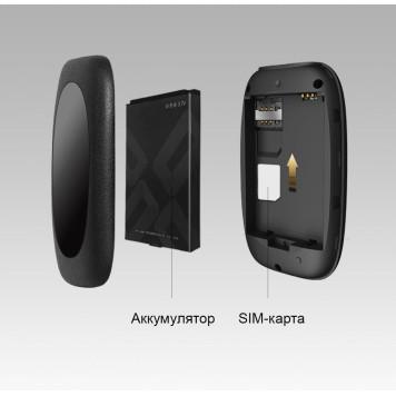 Модем 2G/3G/4G TP-Link M7000 micro USB Wi-Fi +Router внешний черный -1