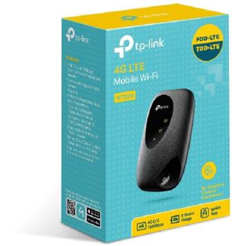 Модем 2G/3G/4G TP-Link M7200 micro USB Wi-Fi +Router внешний черный
