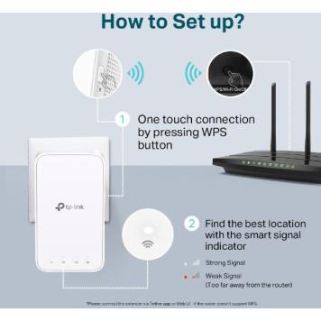 Повторитель беспроводного сигнала TP-Link RE300 AC1200 Wi-Fi белый -1
