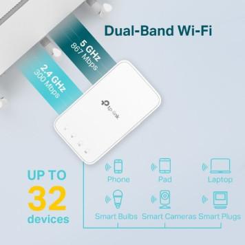 Повторитель беспроводного сигнала TP-Link RE300 AC1200 Wi-Fi белый -2