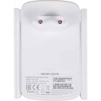 Повторитель беспроводного сигнала Mercusys MW300RE N300 Wi-Fi белый -2