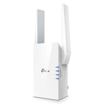 Повторитель беспроводного сигнала TP-Link RE505X AX1500 10/100/1000BASE-TX/Wi-Fi белый