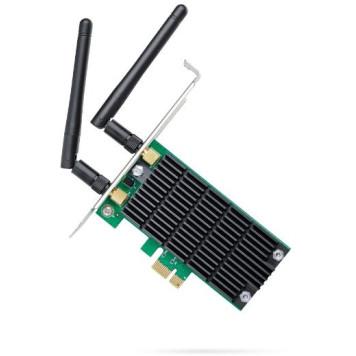 Сетевой адаптер WiFi TP-Link Archer T4E AC1200 PCI Express (ант.внеш.съем) 2ант. -7